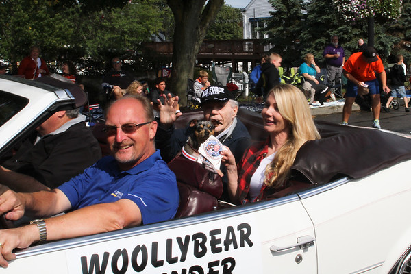 October 6. 2019. Part I. Woollybear Parade 47th year in Vermilion.