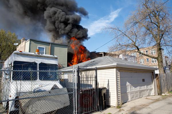 Working Fire 4021 W. Adams April 2019
