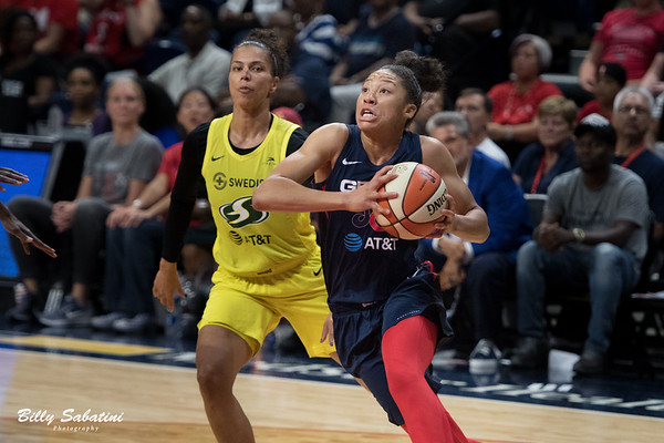 Mystics vs. Seattle Storm - August 14, 2019