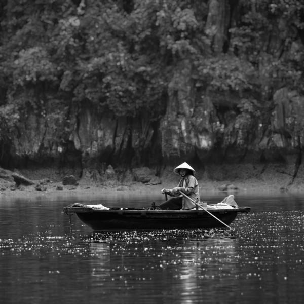 Boat Lady Blur BW.jpg