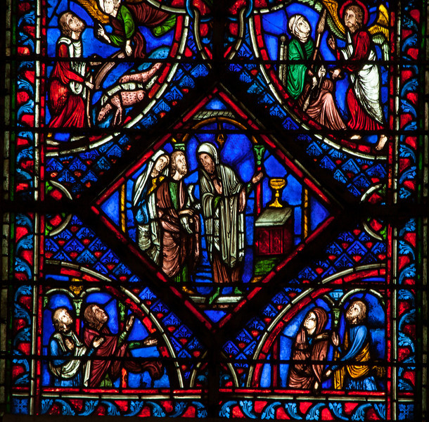 Troyes Cathedral - Early Life of The Virgin - Joachim's Sacrifice Refused