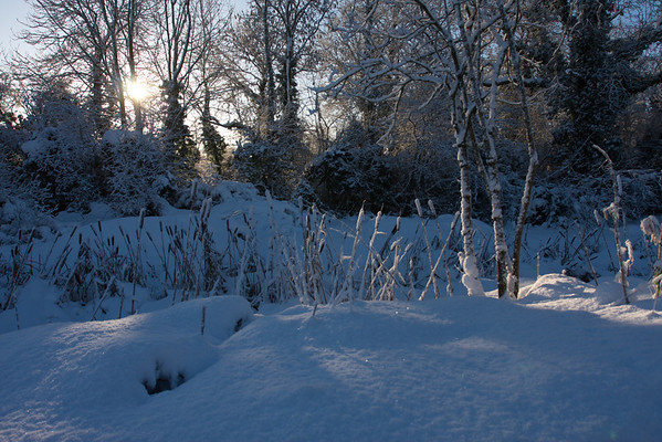 Heavy snow, Holton le Clay, Tetney... Early Dec 2010