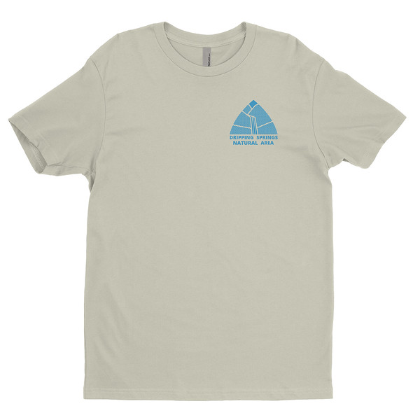 Organ Mountain Outfitters - Outdoor Apparel - Mens T-Shirt - Dripping Springs Tee - Sand Front.jpg