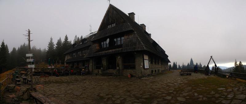 Shelter on Turbacz