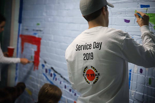 Advent Service Event 2019 - City Year Boston