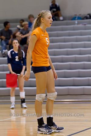 Boone Girls JV Volleyball #5 - 2011