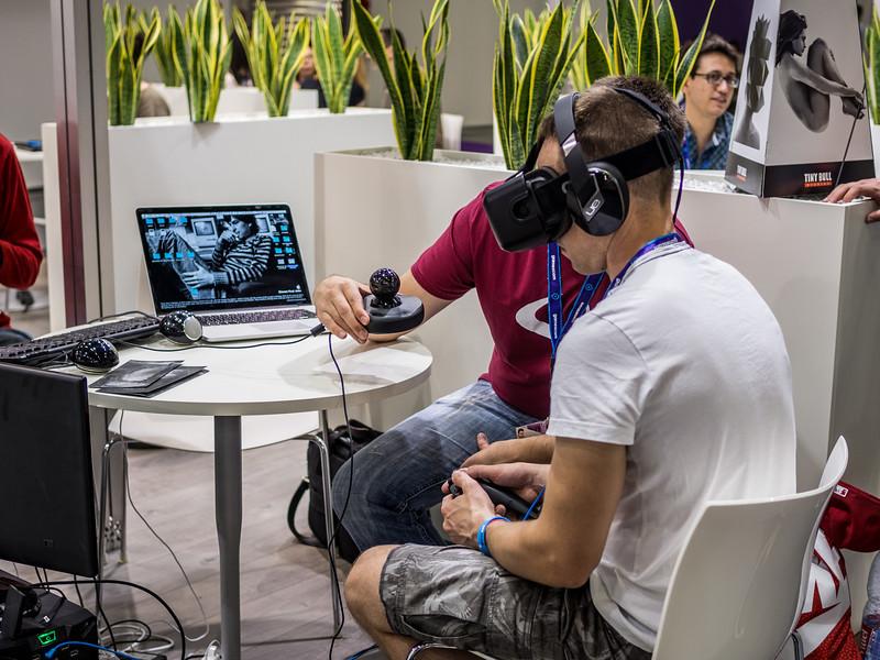 VR at Gamescom 2015