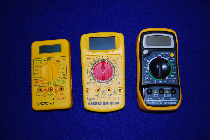 Any of these multimeters will meet the need for basic trouble shooting and checking on the battery status.