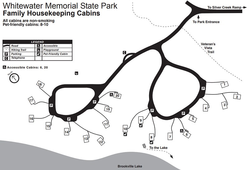 Whitewater Memorial State Park (Cabins Area)