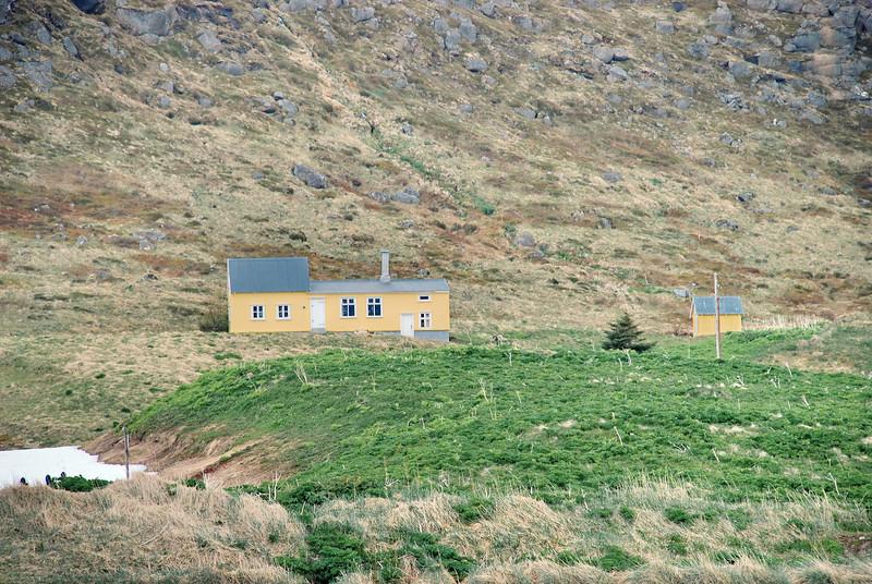Hesteyri. Reyrhóll. 2012.