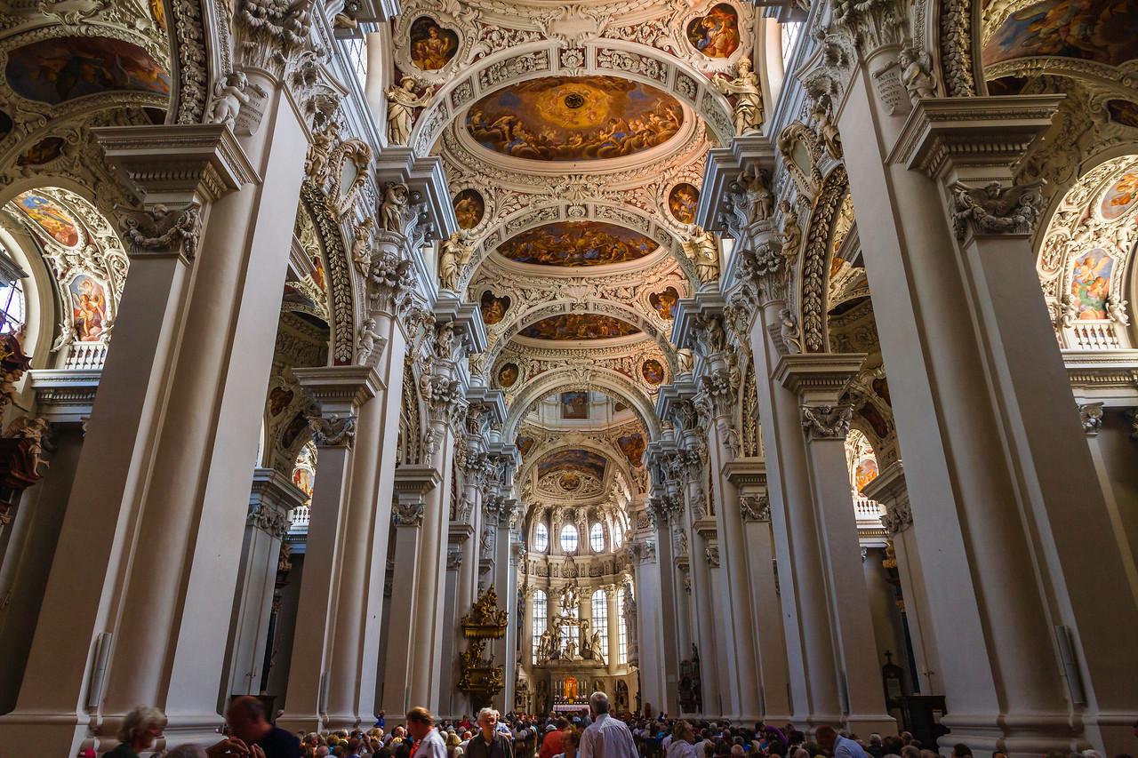 德国帕绍(Passau),圣斯蒂芬大教堂
