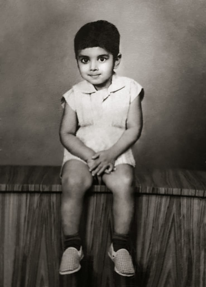 Mohanji at a very young age