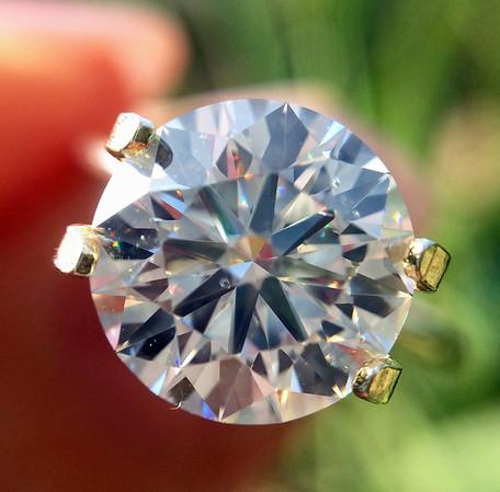 "2.51ct BGD ""Blue"" Round Brilliant Diamond, AGS 000 J, SI1"