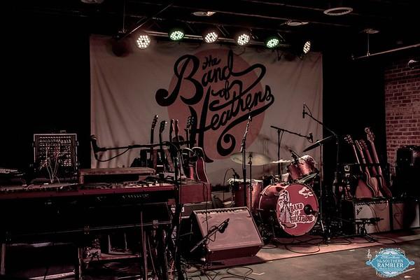 The Band of Heathens at Cedar Street Social Club 11.11.18