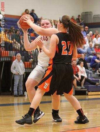 Penn Yan Girls Basketball 2-11-13