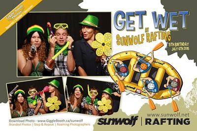 Sunwolf Rafting 5th Anniversary