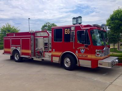 Bossier City Louisiana Fire Department