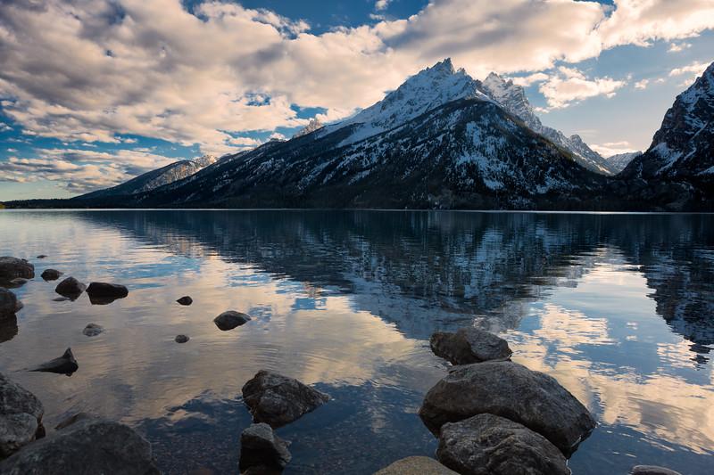 Jenny Lake, Evening