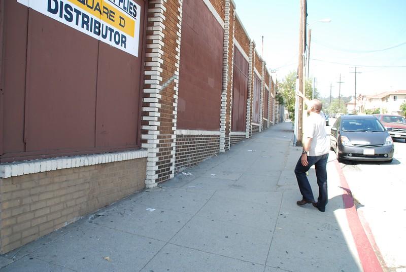 2010, Solano Avenue Sidewalk