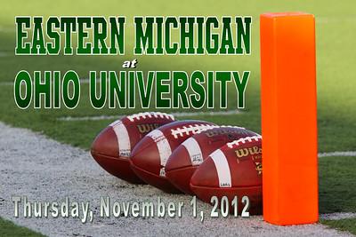 2012 Eastern Michigan at Ohio University (11-01-12)