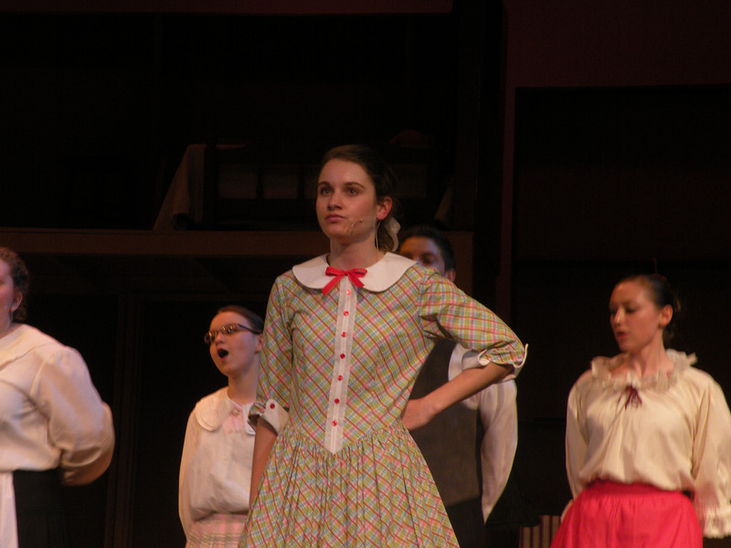 Premier Weekend in the Jochum Performing Arts Center features Seven Brides for Seven Brothers.