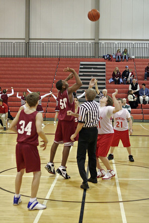 Middle School Boys Basketball 8B - 2006-2007 - 12/11/2006 Orchard View