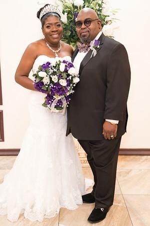 Zedric & Wanda Smith Wedding