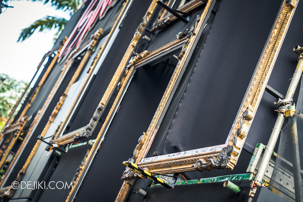 Halloween Horror Nights 7 Before Dark 2 Preview Update / Opening Scaremony Stage Frames closeup