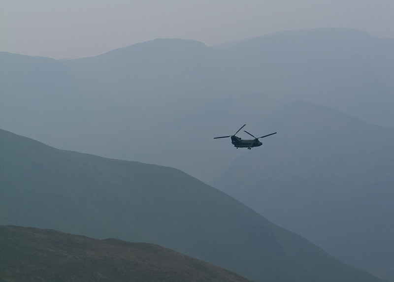Chinook viewed from High Street