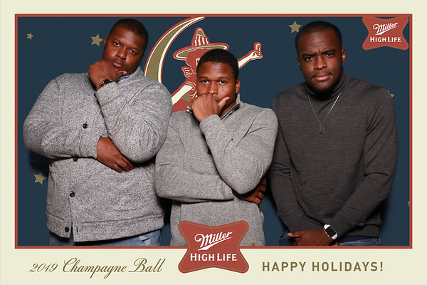 12-30-19 Miller High Life Champagne Ball
