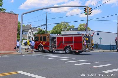 Vincent Ave car fire 7/3/17