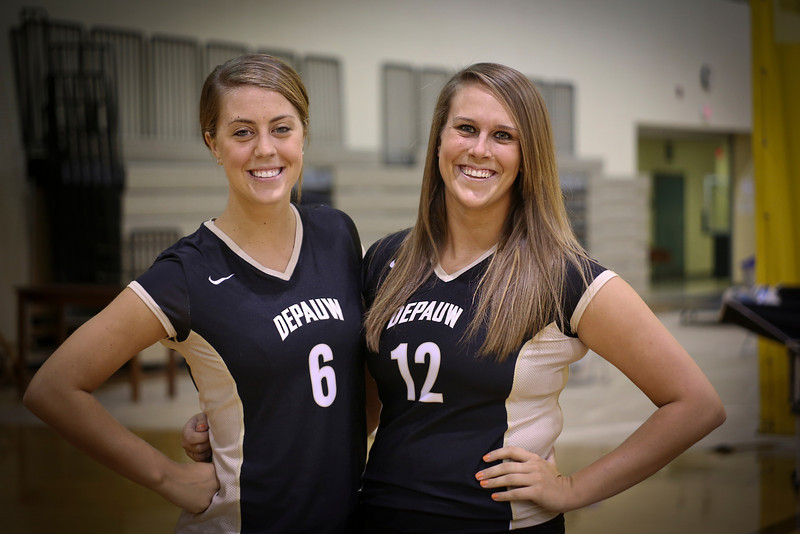 DePauw Volleyball 2012