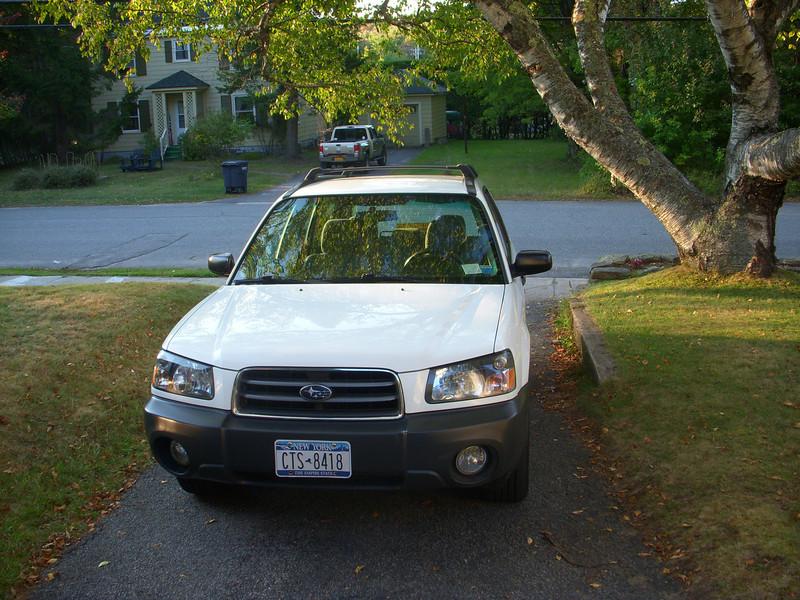 Our new 2004 Subaru Forester,sep 12, 2012. DSCN0302.JPG