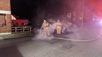 Coates St - Car Fire