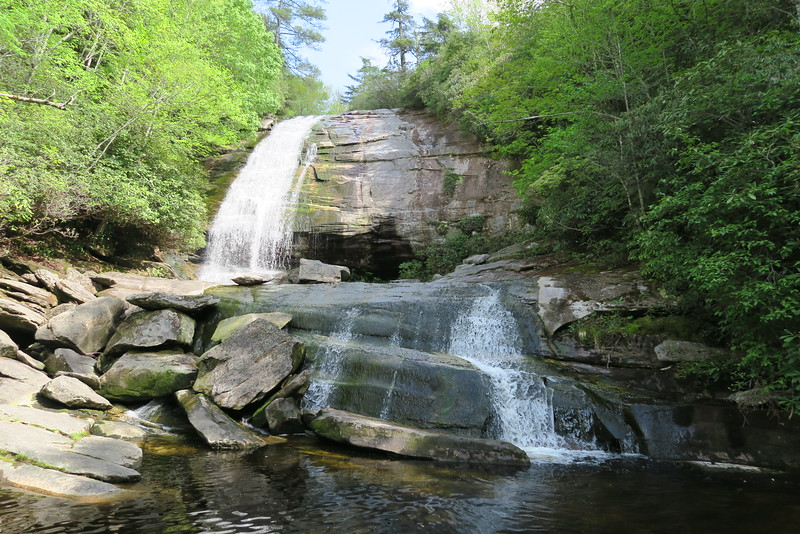 Panthertown Valley - Greenland Creek Falls  (2.0 miles; d=2.40)