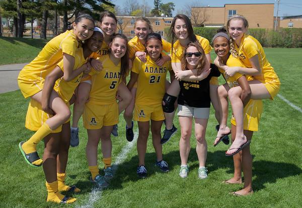 Adams HS Varsity Soccer Seniors 2015