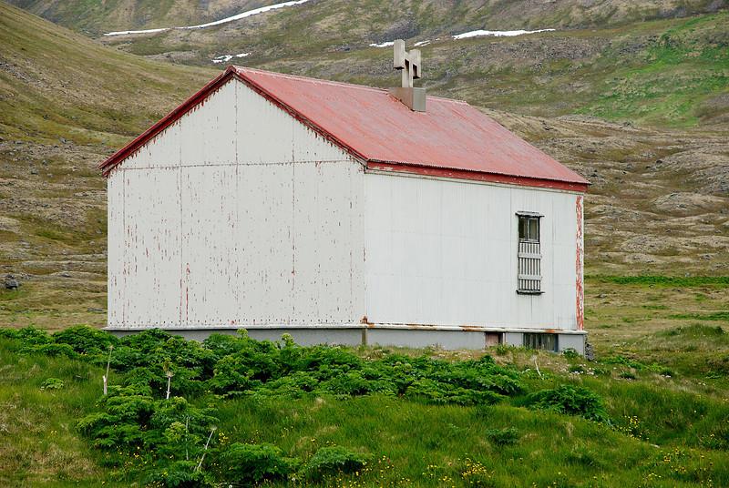 Aðalvík - Sæból. Skólinn. 2012.