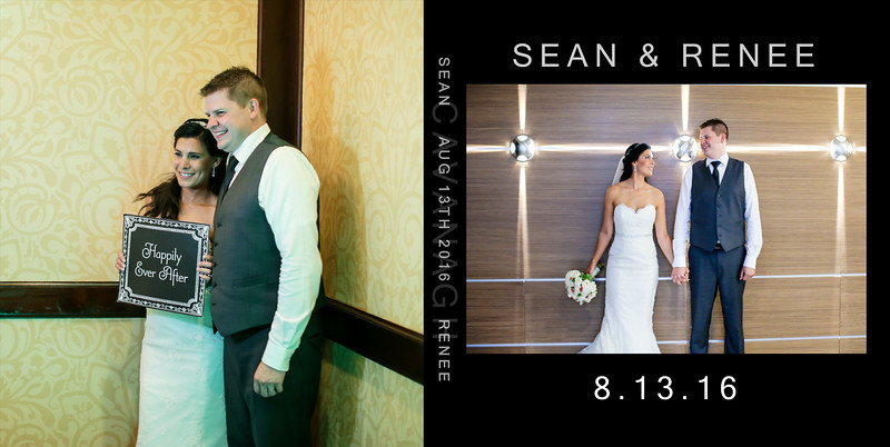 Renee & Sean 10x10 Wedding Album