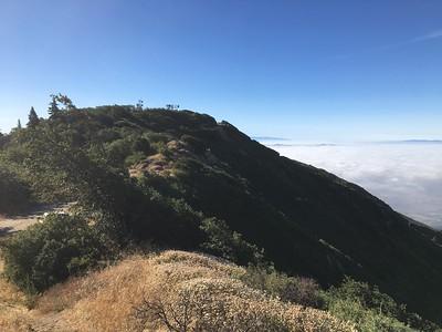 Bailey Peak, Bailey BM, and Monument Peak