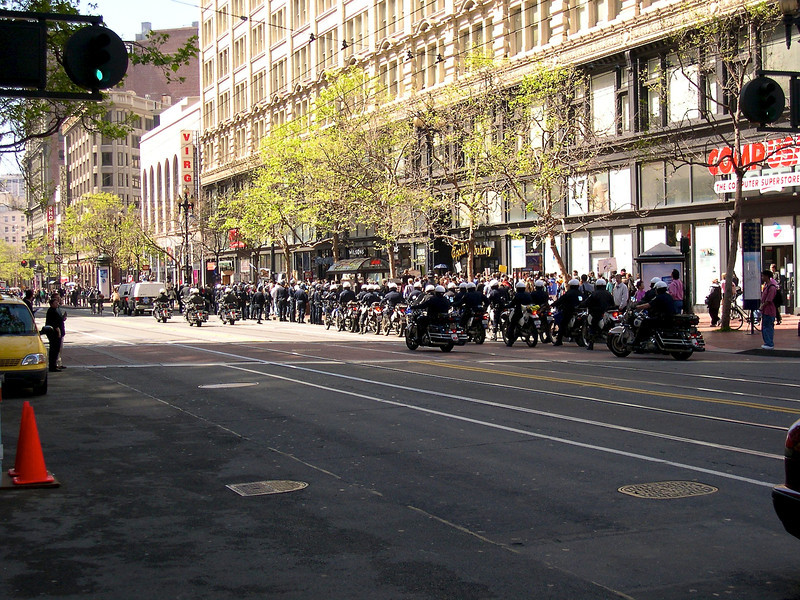 San Francisco - March 2003 Market Street