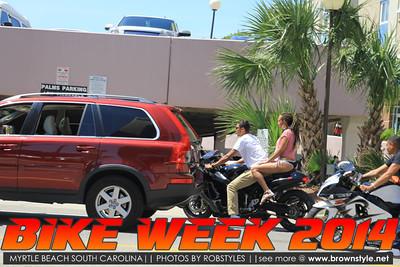 BIKE WEEK 2014 Myrtle Beach South Carolina! TURN DOWN FOR WHAT *RAW PICS*