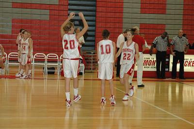 Girls Junior Varsity Basketball - 2006-2007 -  10/3/2006 Orchard View