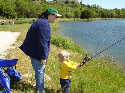 2005-07-28 Fishing at Keller Park