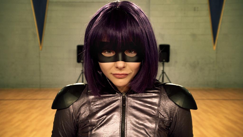 ". Chlo� Grace Moretz returns as Hit Girl in \""Kick-Ass 2.\"" Provided by Universal."