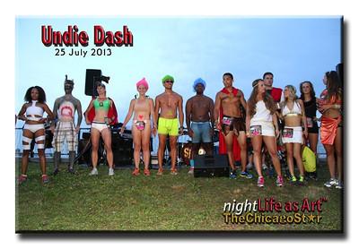25 July 2013 Undie Dash