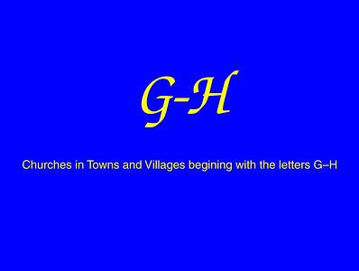 G–H Churches