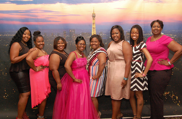 Pink Orchid Ball - 2013