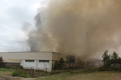 Commercial Structure Fire, former American Cable Recycling, Lofty Road, Delano (7-25-2013)