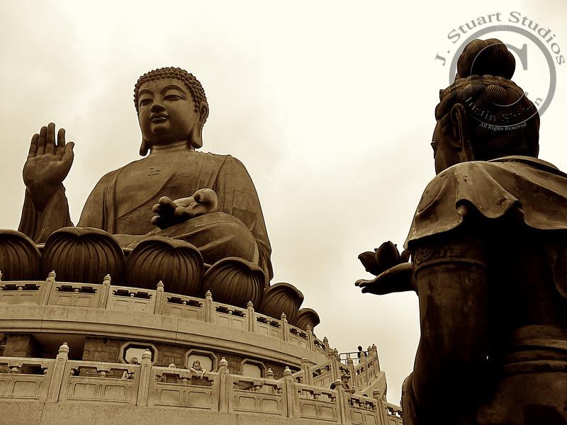 Buddha & Bodhisattva