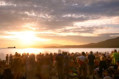 Sunsets on 3rd Beach